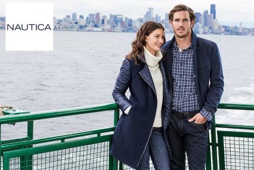 Nautica men's and women's clothing.