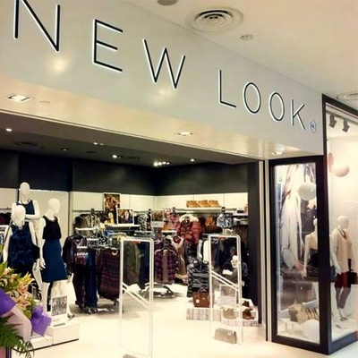 New Look clothing shop in Singapore.