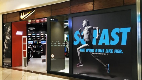 Nike store Ngee Ann City Singapore.