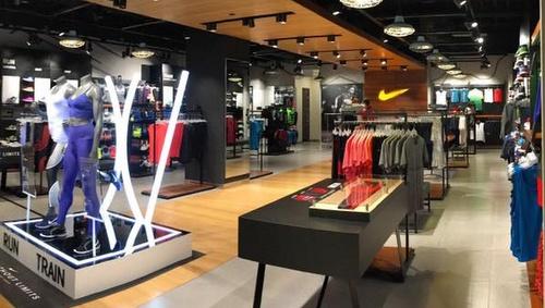 Nike store VivoCity Singapore.