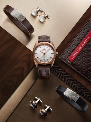 Omega Globemaster watch.