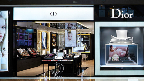 Parfums Christian Dior Marina Bay Sands Singapore.