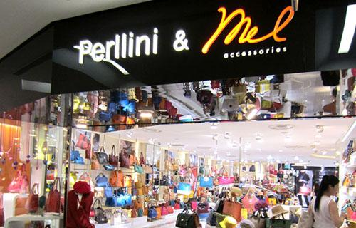 Perllini & Mel Accessories store at NEX shopping centre in Singapore.
