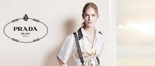 Prada women's clothing.