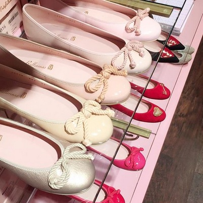 Pretty Ballerinas shoes in Singapore.