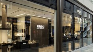 Rado watch store at Marina Bay Sands in Singapore.