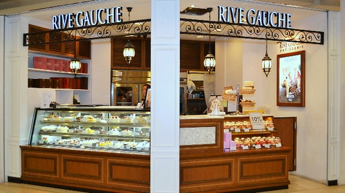 Rive Gauche French bakery / patisserie at Tampines 1 mall in Singapore.