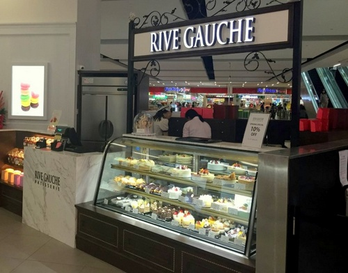 Rive Gauche Patisserie bakery at nex mall in Singapore.