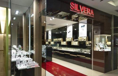 Silvera jewelry store NEX Singapore.