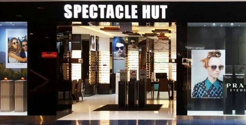 Spectacle Hut optical store at Marina Square in Singapore.