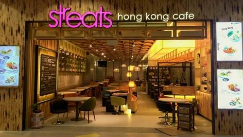 Streats Hong Kong Cafe NEX Mall Singapore.