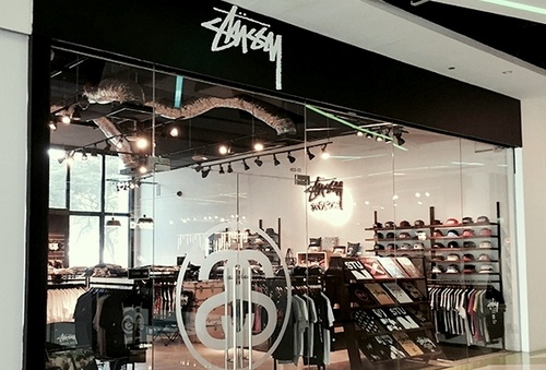 Stussy clothing shop in Singapore.