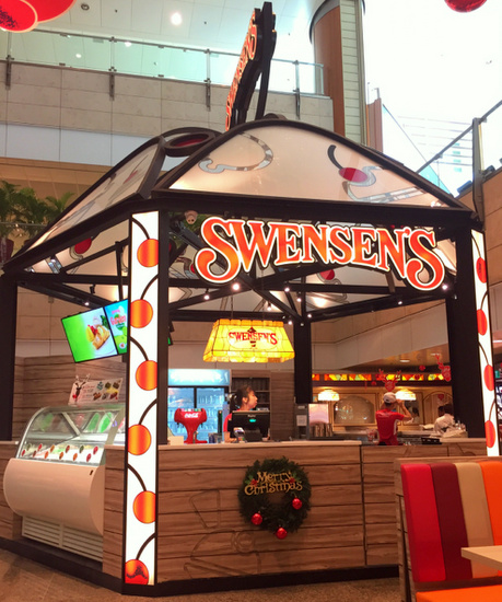 Swensen's restaurant & ice cream cafe in Singapore.