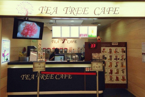 Tea Tree Café tea house at NEX shopping centre in Singapore.