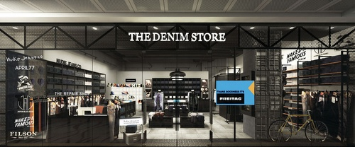 The Denim Store at 313@Somerset mall in Singapore.