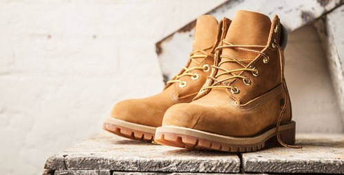 Timberland Yellow Boots footwear.