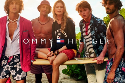 Tommy Hilfiger clothes.