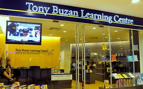 Tony Buzan Learning Centre at Hougang Mall in Singapore.