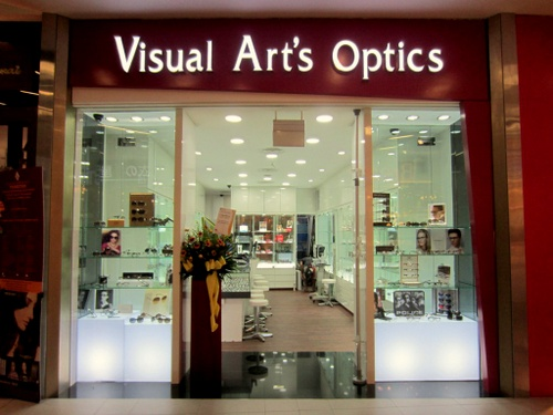 Visual Art's Optics store at NEX mall in Singapore.