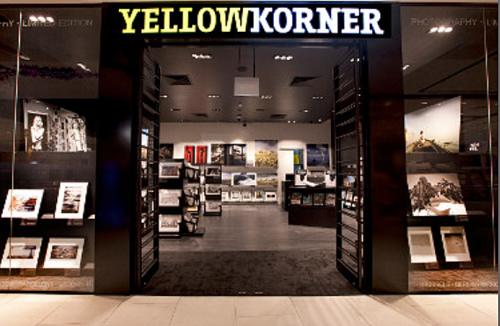 YellowKorner photography gallery in Singapore.