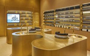 Aesop beauty store Raffles City Singapore.