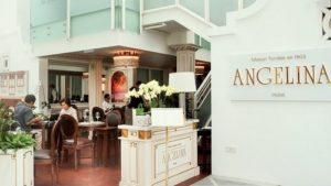 Angelina tea house Capitol Piazza Singapore.