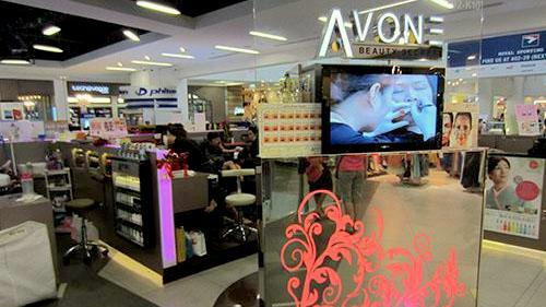 Avone beauty salon NEX Singapore.
