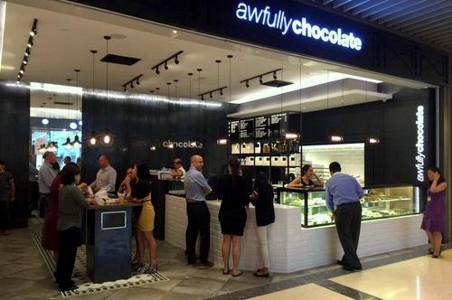 Awfully Chocolate Marina Bay Links Mall Singapore.