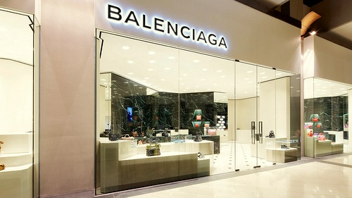 Balenciaga store Marina Bay Sands Singapore.
