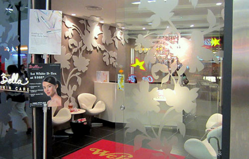 Bella Skin Care center NEX Singapore.