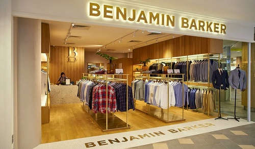 Benjamin Barker men's clothing store Tampines 1 Singapore.
