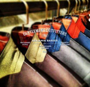 Benjamin Barker gentlemen's outfitters.