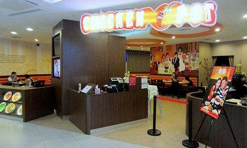 Chicken Hotpot NEX Singapore.