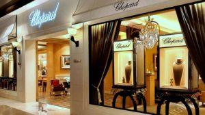 Chopard watch and jewellery store Marina Bay Sands Singapore.