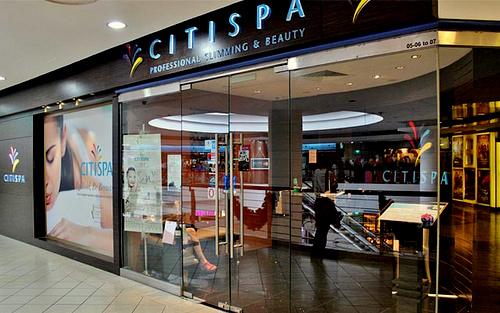 CITISPA Century Square shopping centre Singapore.