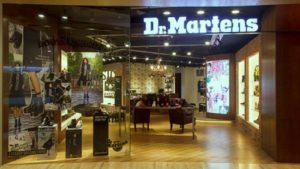 Dr. Martens shoe store Capitol Piazza Singapore.