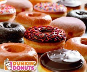 Dunkin' Donuts donuts.