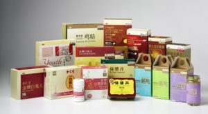 Eu Yan Sang traditional Chinese medicine products.