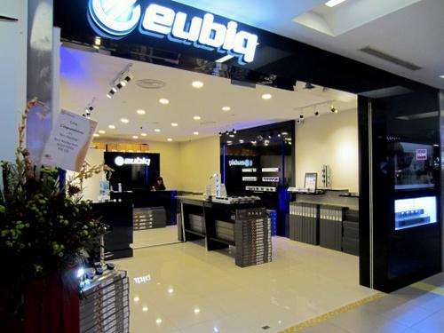 Eubiq store NEX Singapore.