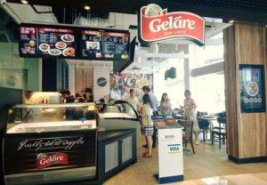 Geláre ice cream & waffle cafe at Viva Business Park Singapore.