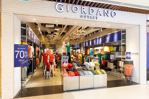 Giordano Factory Outlet IMM Singapore.