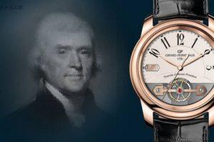 Girard Perregaux 1801 Thomas Jefferson President watch.