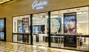 Glashütte Original watch store Marina Bay Sands Singapore.