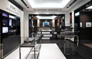 IWC Schaffhausen watch store Marina Bay Sands.