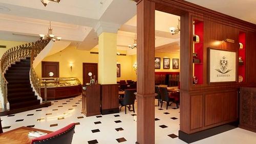 Kaiserhaus European restaurant Capitol Piazza Singapore.