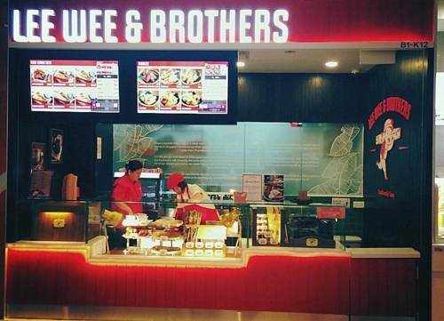 Lee Wee & Brothers' foodstuff shop JEM Singapore.