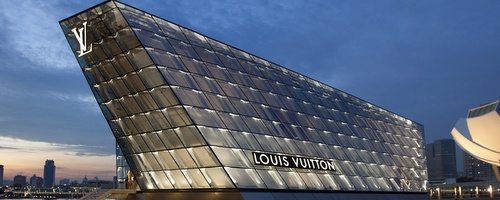 Louis Vuitton Island Maison flagship store Marina Bay Sands Singapore.