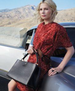 Louis Vuitton Michelle Williams ad.