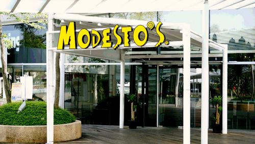 Modesto's Italian restaurant VivoCity Singapore.