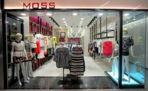 Moss Fashion store NEX Singapore.